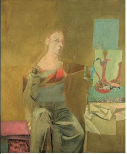 Example of de Kooning portrait