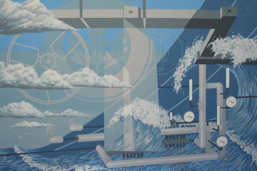 """Final 48""""x32"""" mural panel"""