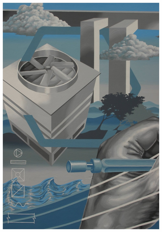 Engineering company triptych