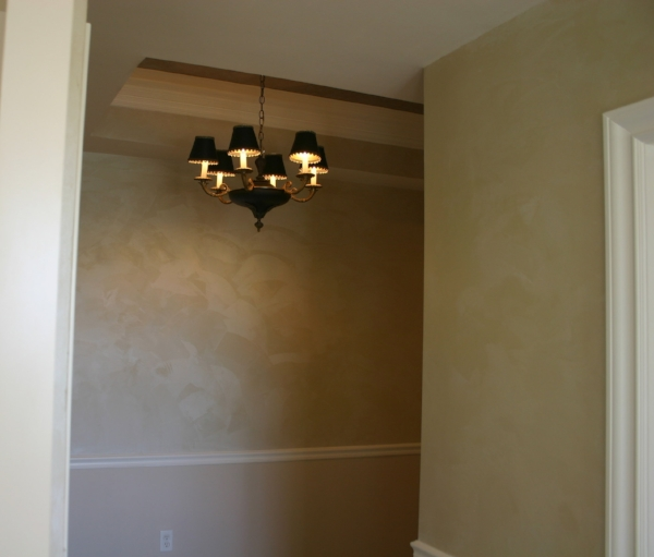 Great room after