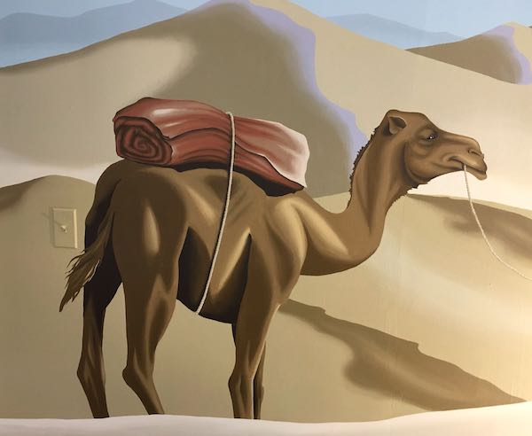 Camel detail