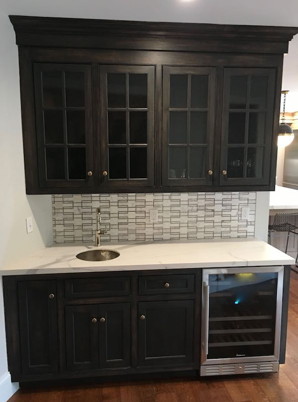 Specialty Paint Finishes On Cabinets Blackbeak Studios