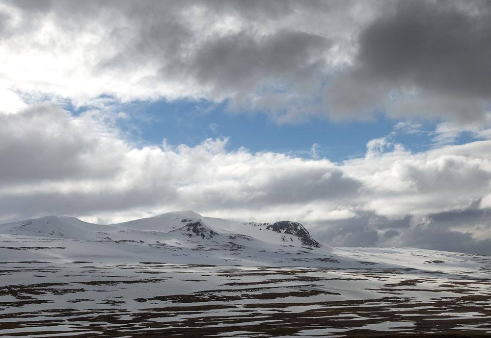 Mountain Pass, Westfjords, Iceland