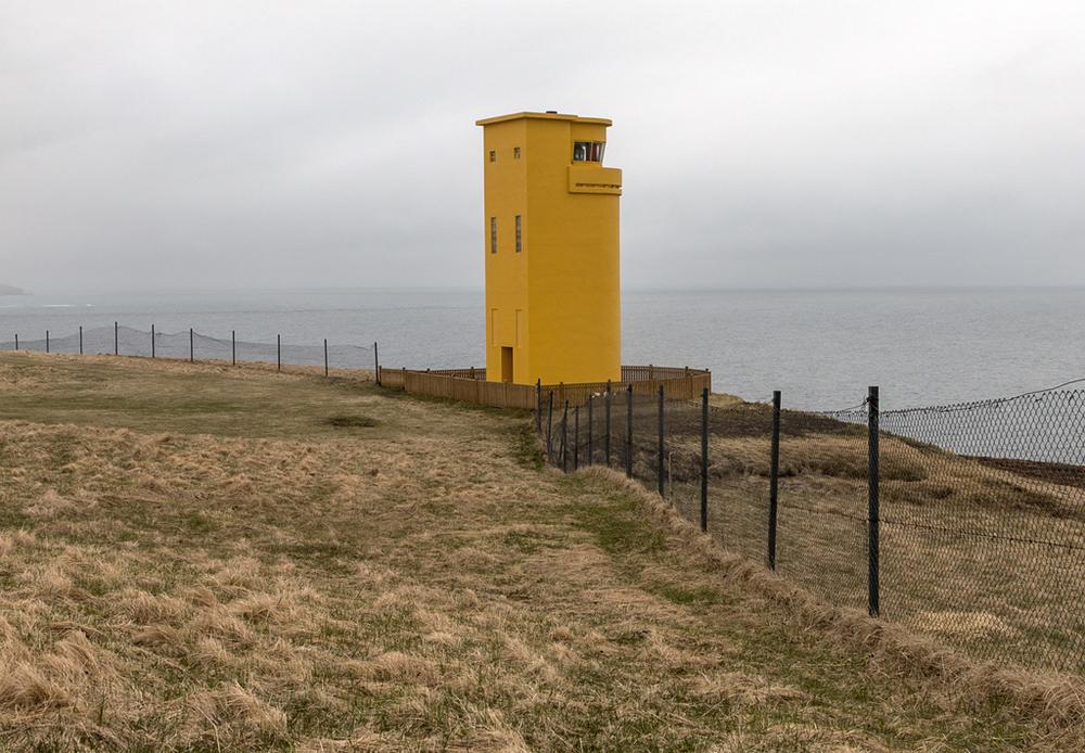 Husavik Lighthouse, Husavik, Iceland