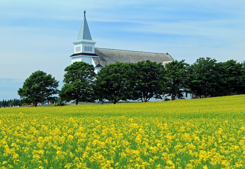 St. Peter's Bay Church, St. Peter's Bay, Prince Edward Island