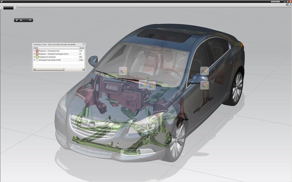 Example of CAD/CAM/CAE