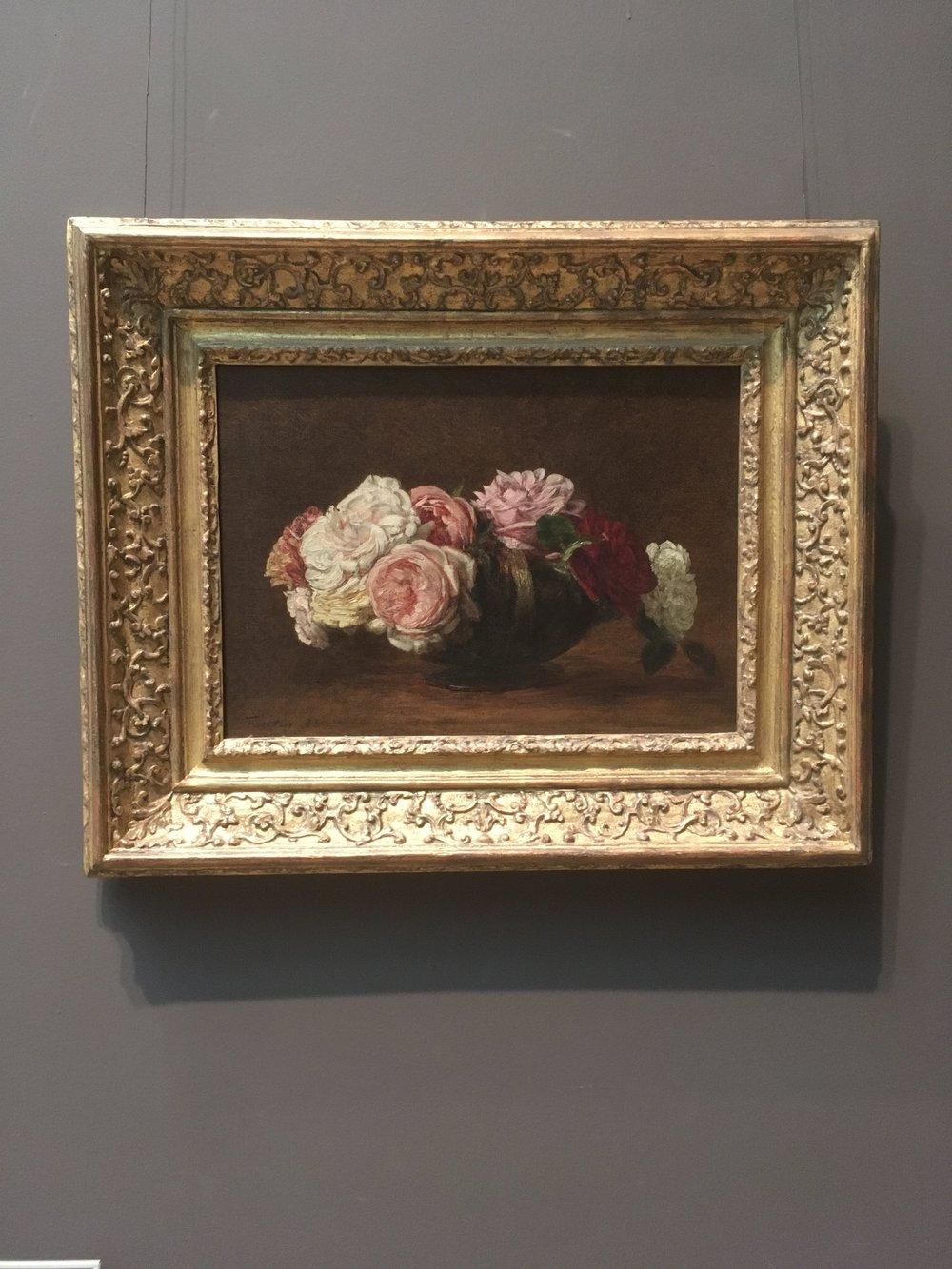 Henri Fantin-Latour, 'Roses in a Bowl' 1883