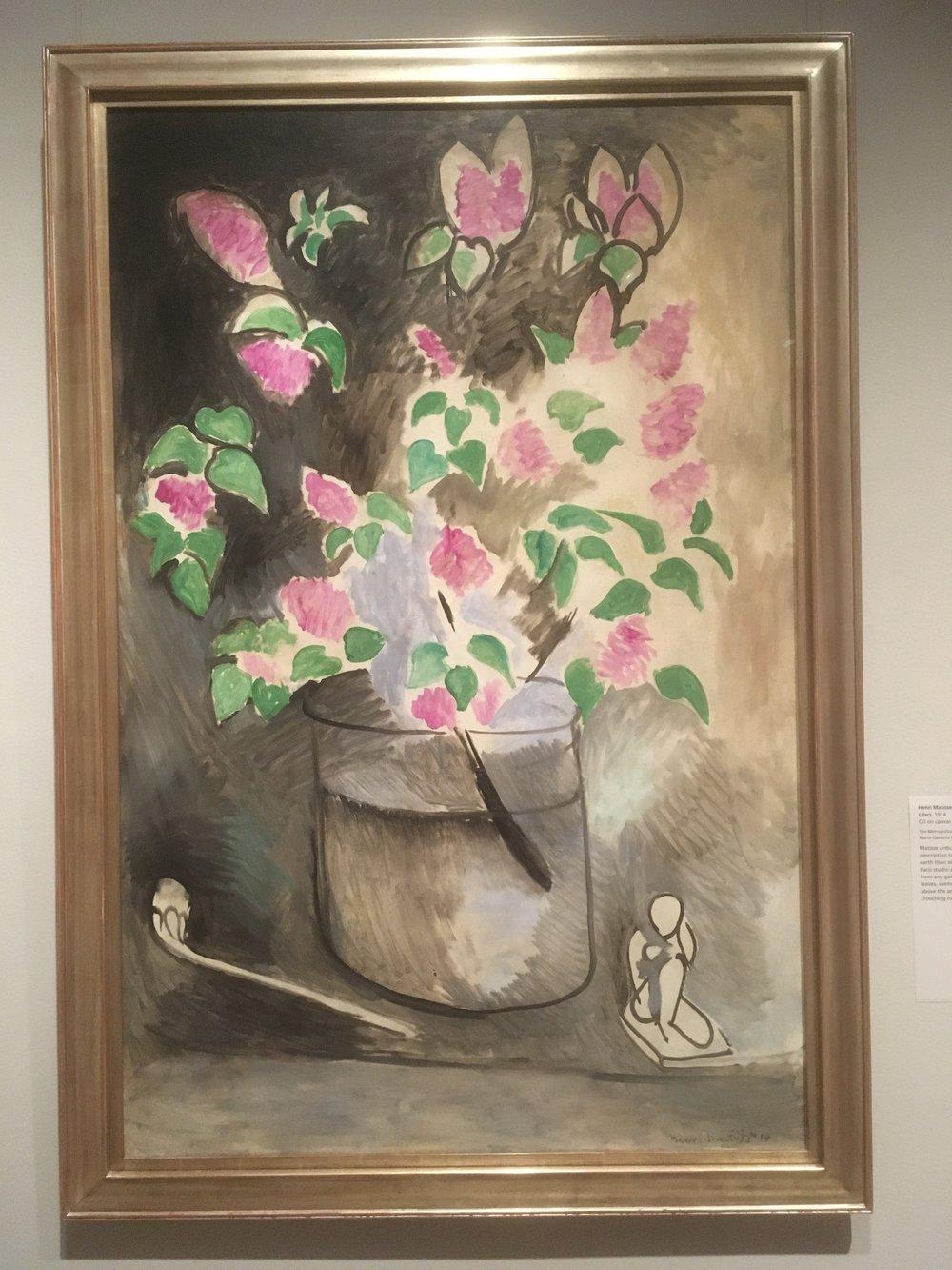 Henri Matisse, 'Lilacs' 1914