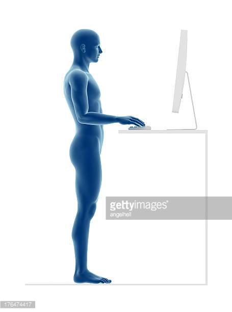 Pacing at a Sit-Stand Desk