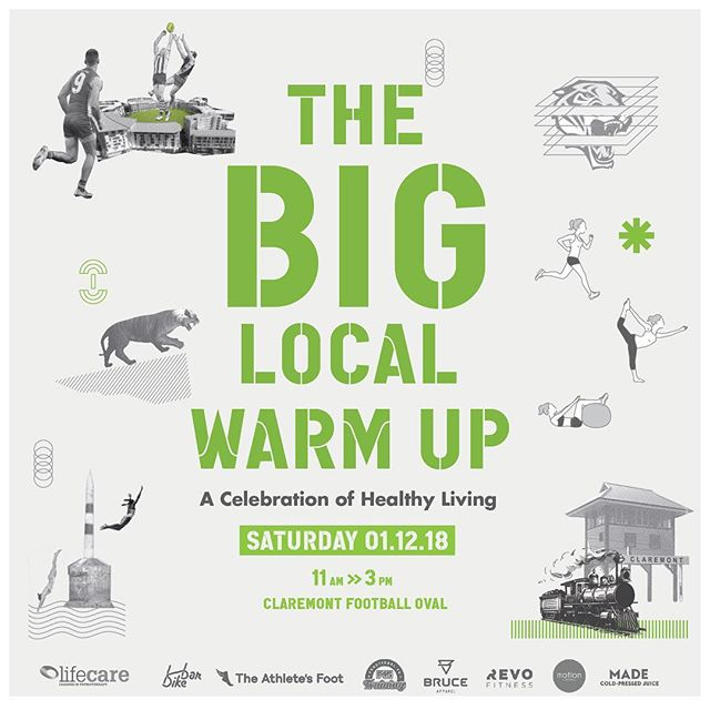 BIG LOCAL WARM UP - DECEMBER 1st. Swipe across to see some of the local health businesses we have involved, more dropping tomorrow! Bring your family and friends down 👋🏻 Link in Bio . . . . . #lifecarecottesloe #lifecarephysio #lifecareclaremont #physiotherapist #physio #pilates #cottesloephysio #claremontphysio #claremontoval #claremont #cottesloe #everybodyneedslifecare #community #biglocalwarmup #claremont community