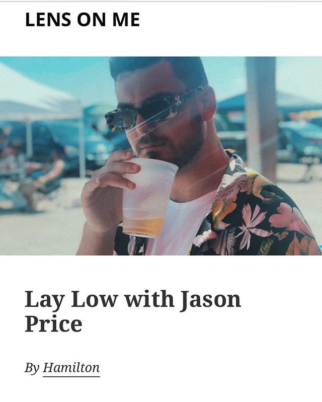 I usually keep a low profile (pun intended) but I did an interview with @hambino_  for @lensonme_. If you're interested in the backstory behind Lay Low peep the link in bio. Worth the read.