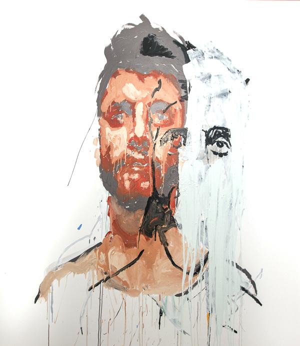 Benjamin Aitken,   Yoghurt    , 2014, synthetic polymer paint on canvas, 170x150cm