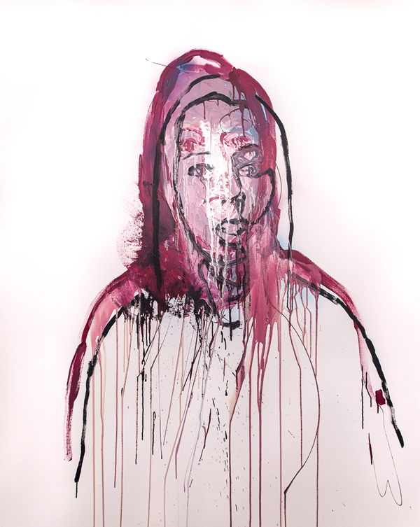 Benjamin Aitken,   Virginia    , 2014, synthetic polymer paint on canvas, 180x140cm