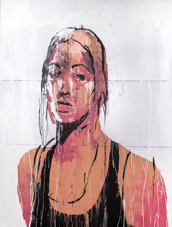 Benjamin Aitken,   Xanax    , 2014, synthetic polymer paint on canvas, 250x190cm