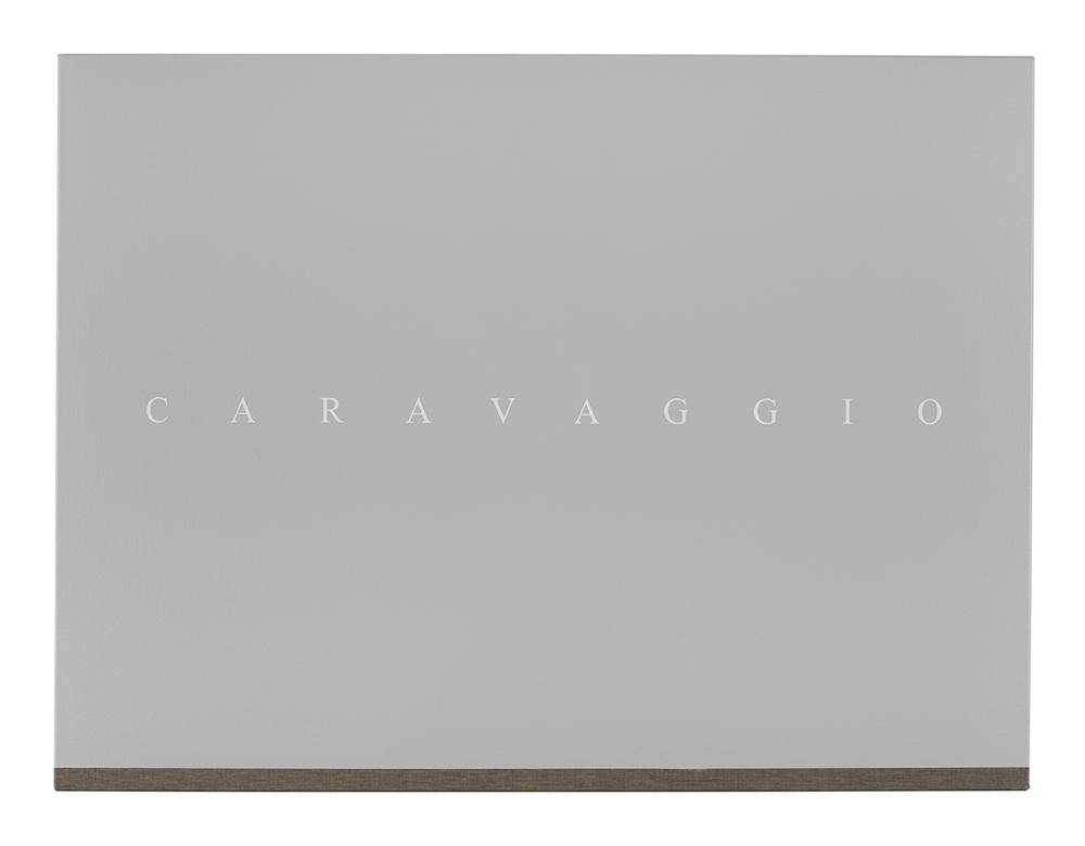 PJ HICKMAN Caravaggio 2014 Acrylic on reverse of black primed canvas 61 x 81.3cm.jpg