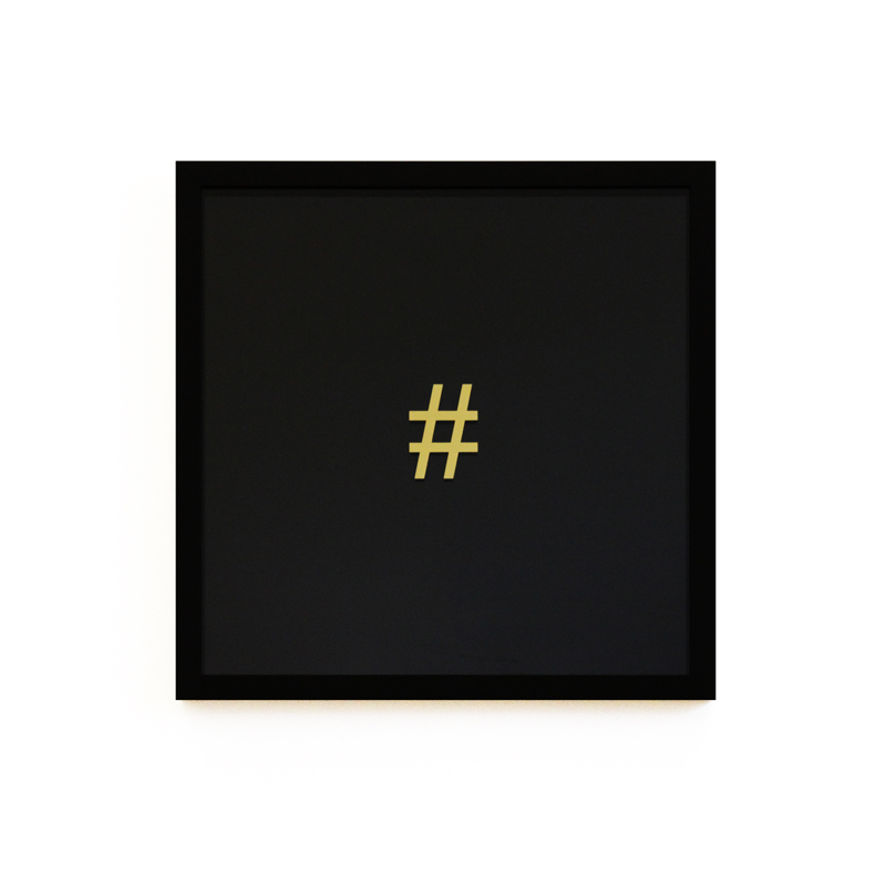 Hashtag (Ebony Edition)_Alun Rhys Jones_40x40cm.jpg