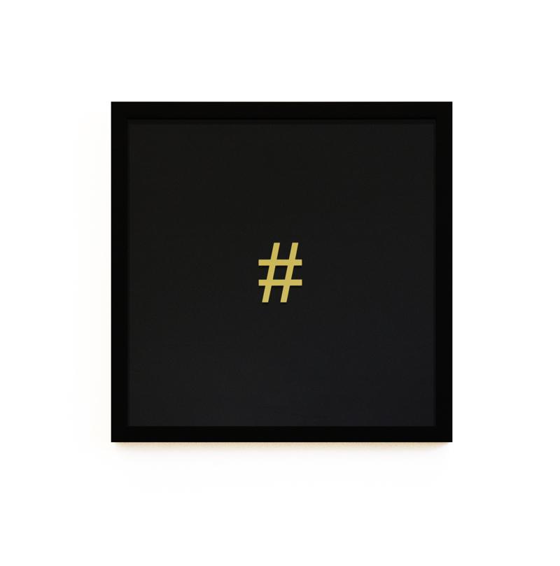 Hashtag (Ebony Edition)_Alun Rhys Jones_40x40cm.jpg