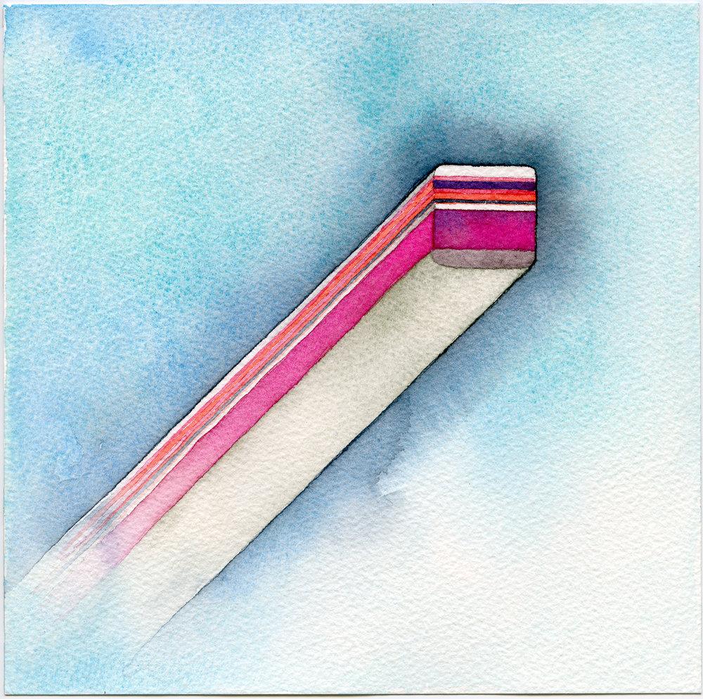 07-Caspar Fairhall-Strata-2015, 21 x 21cm, watercolour, $690 (framed).jpg
