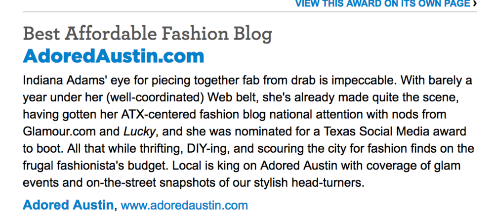 2009 | First time a publication mentioned my blog!
