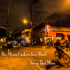 Messy Cookers Jazz Band Swing That Music 2013 Guitar, Tenor Banjo