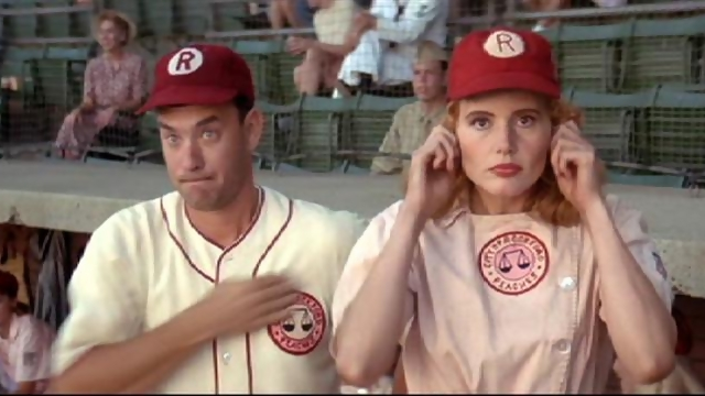 Tom Hanks & Geena Davis
