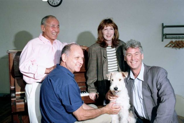 Arthur Laurents, Charles Strouse, Joanna Gleason, Riley and Barry Bostwick