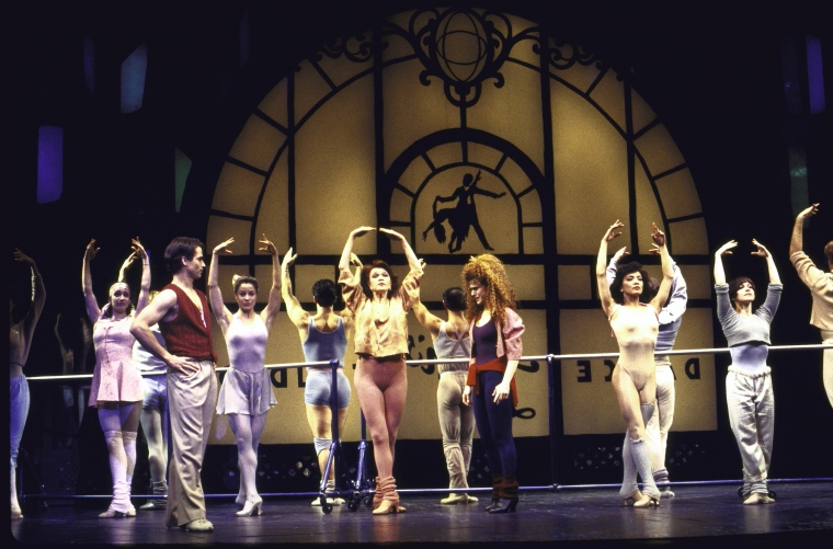 """A Beat Behind"" from The Goodbye Girl, featuring Scott Wise and Bernadette Peters"