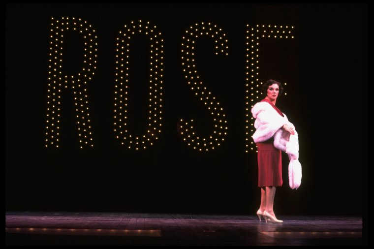 "Tyne Daly performing ""Rose's Turn"" in  Gypsy ."
