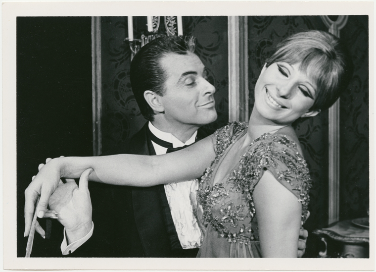 Sydney Chaplin and Barbra Streisand in  Funny Girl .