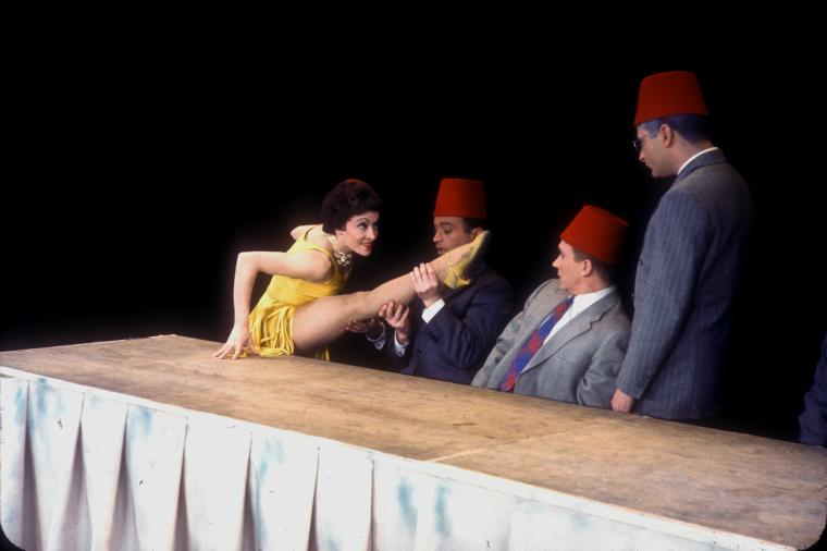 "Chita Rivera dances ""The Shriner Ballet""."
