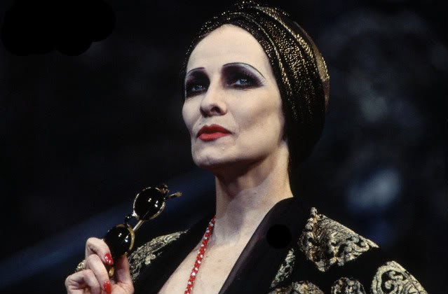 Betty Buckley as Norma Desmond in Sunset Boulevard.