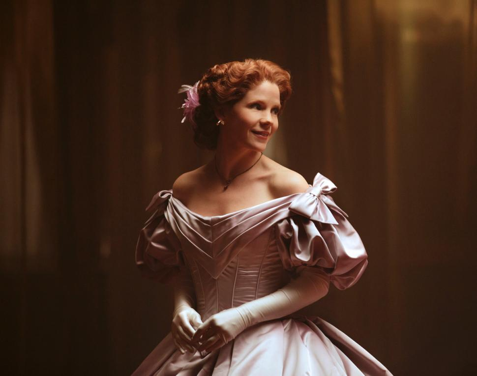 Kelli O'Hara in the 2015 Broadway revival of The King and I.