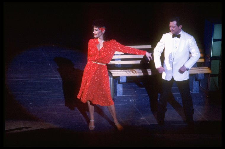 Chita and Donald O'Connor in  Bring Back Birdie .