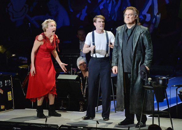 As Anthony in  Sweeney Todd  with Emma Thompson and Bryn Terfel at NY Philharmonic.