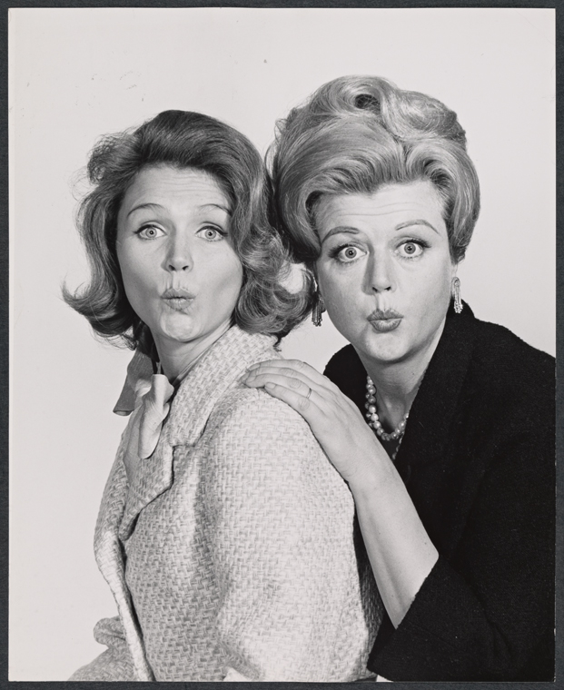 Lee Remick & Angela Lansbury in  Anyone Can Whistle