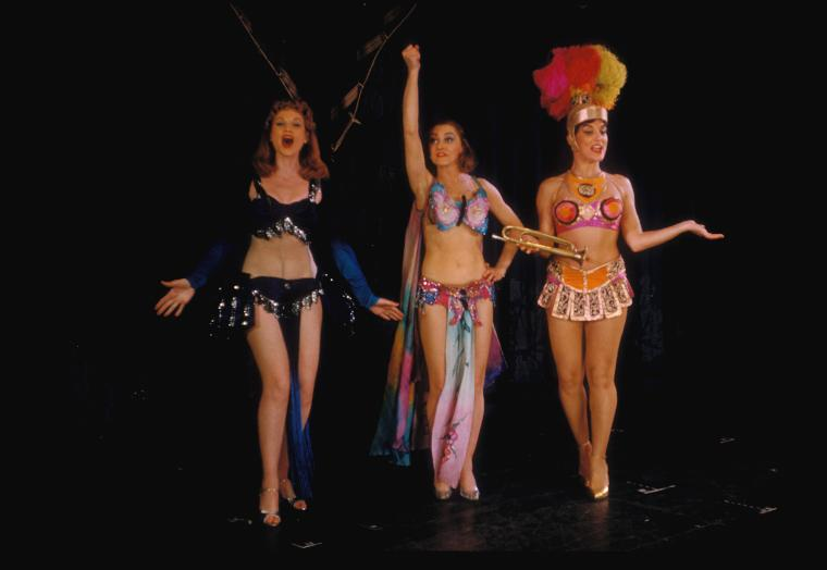 Chotzi Foley, Maria Karmilova and Faith Dane in  Gypsy