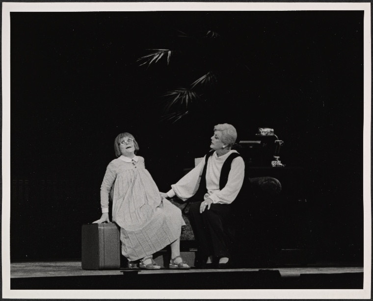 Jane Connell and Angela Lansbury in  Mame .