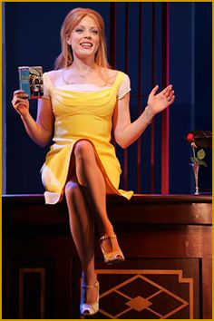 Sherie Rene Scott in Dirty Rotten Scoundrels.