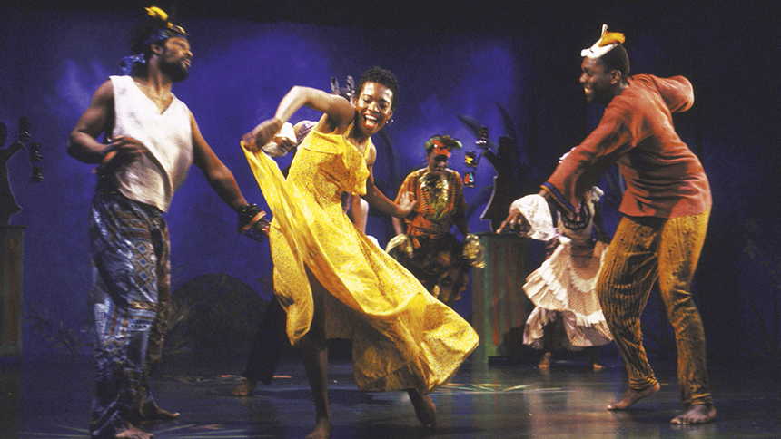 LaChanze leads the cast of  Once on This Island .