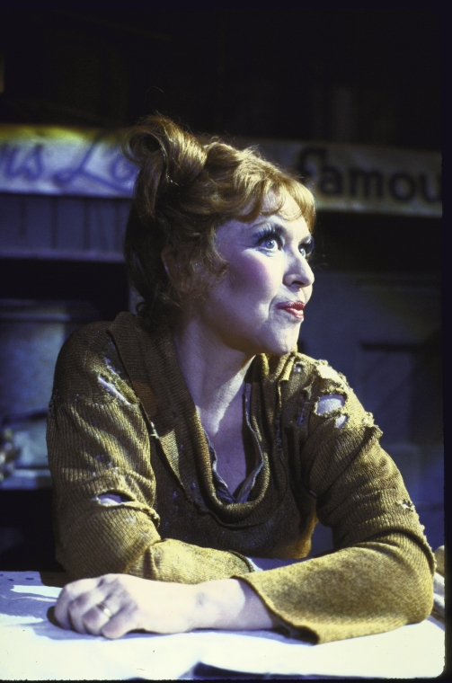 Dorothy Loudon, Lansbury's replacement in the original production.