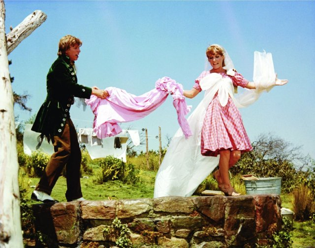 Tommy Steele and Petula Clark in  Finian's Rainbow .