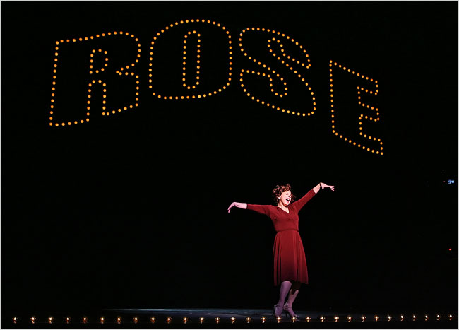 Patti LuPone as Rose in  Gypsy .