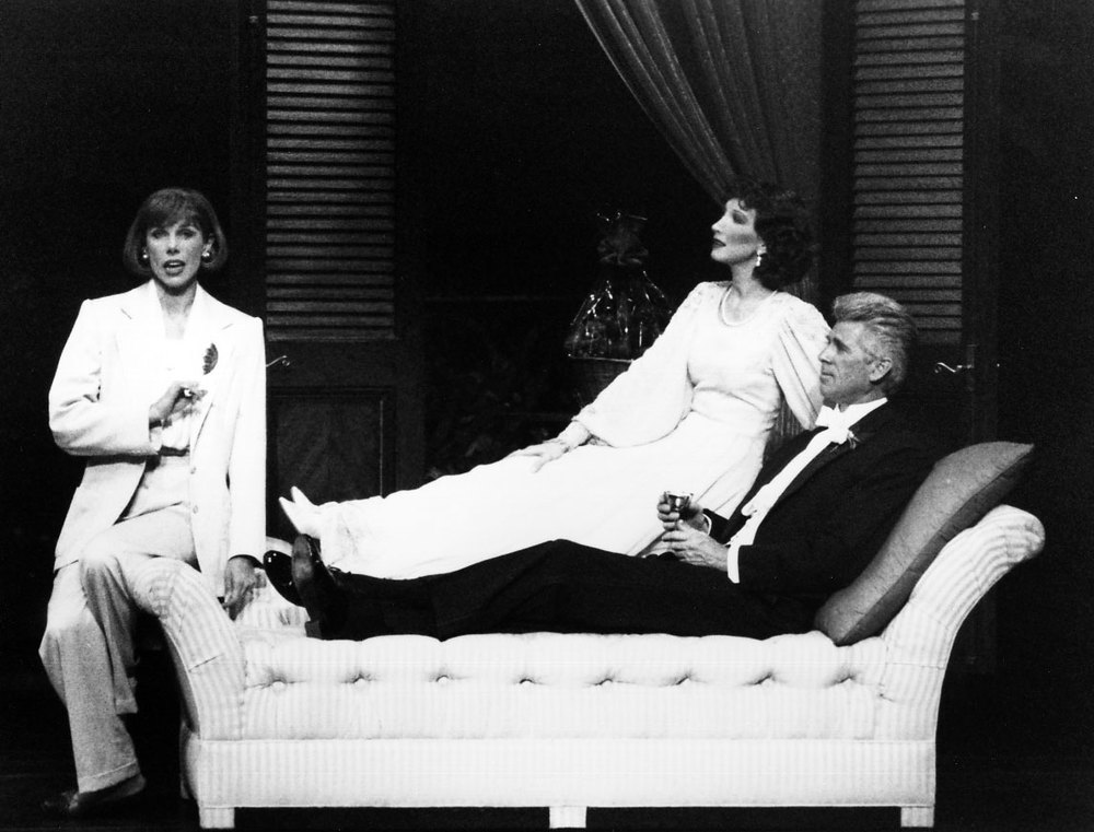 Christine Baranski, Joanna Gleason and Barry Bostwick in Nick & Nora.