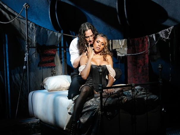 Constantine Maroulis and Deborah Cox in an ill-fated revival of Jekyll & Hyde.
