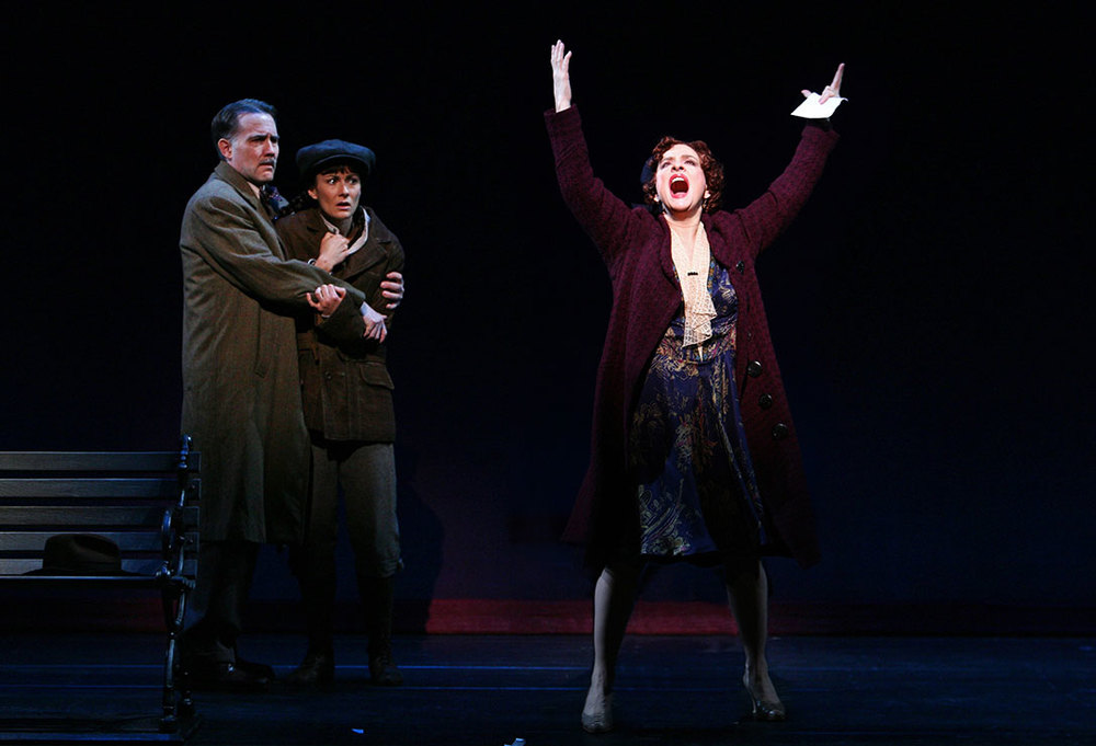 Boyd Gaines, Laura Benanti and Patti LuPone in  Gypsy .