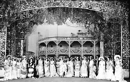 The original Broadway production of Show Boat.