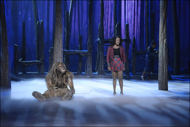 David Alan Grier and Shanice Williams in The Wiz Live.
