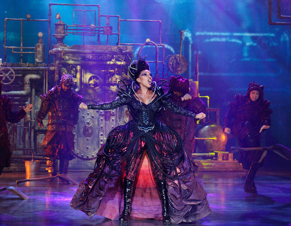 Mary J. Blige in The Wiz Live.
