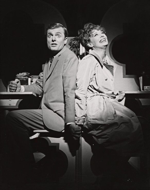 John McMartin and Gwen Verdon in Sweet Charity