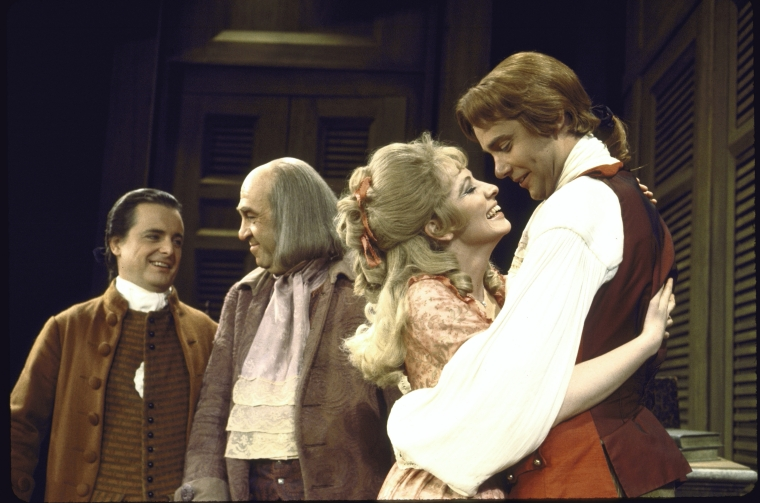 William Daniels, Howard Da Silva, Betty Buckley and Ken Howard in  1776 .